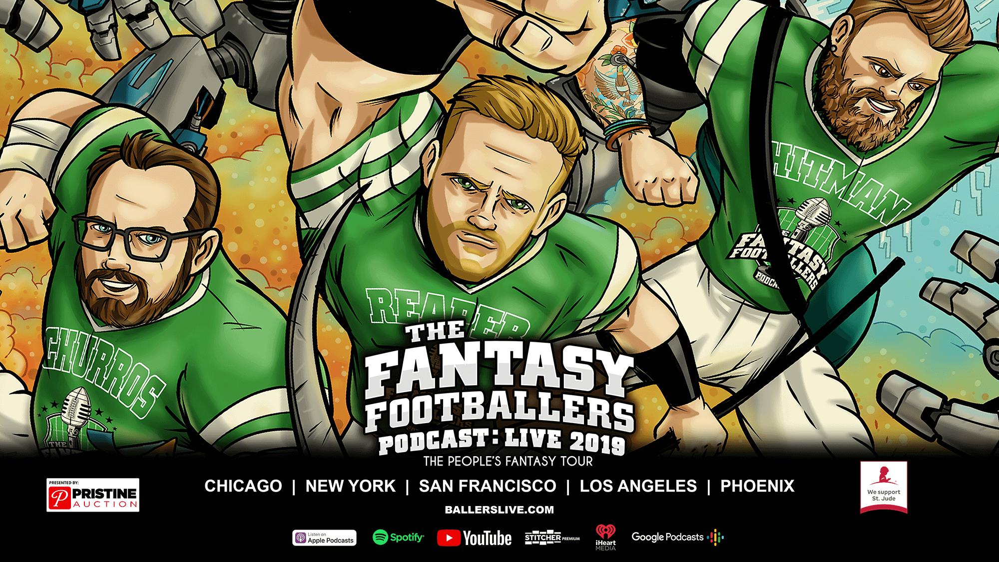 Fantasy Footballers LIVE Tour - Fantasy Footballers Podcast
