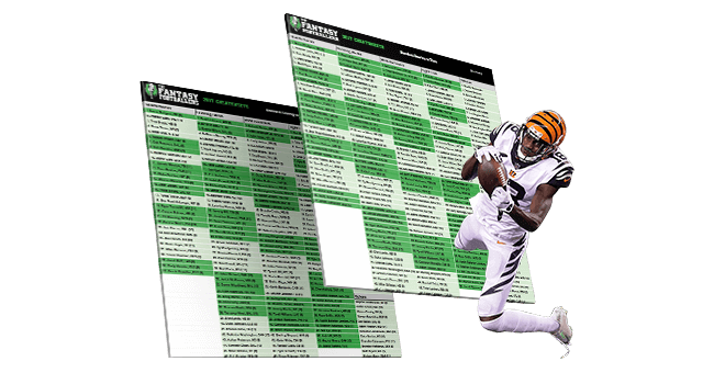 Ultimate Fantasy Football Draft Kit Fantasy Footballers Podcast