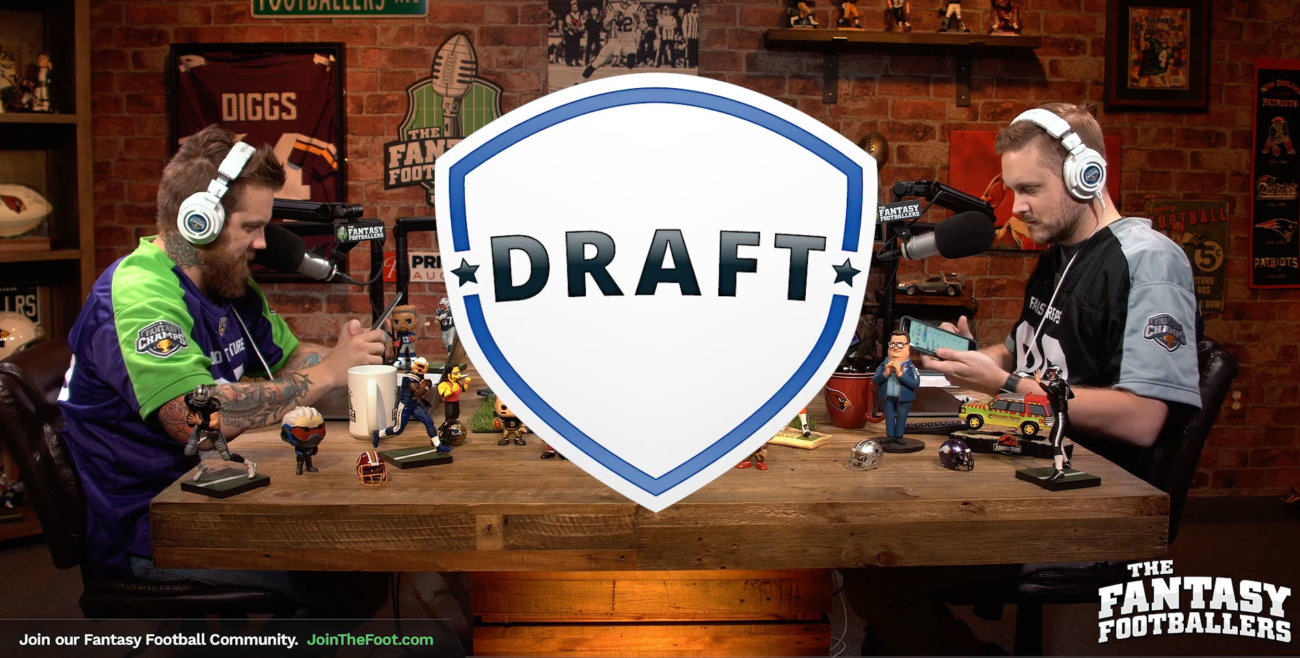 Live Week 12 Draft – Daily Dose for Nov 22