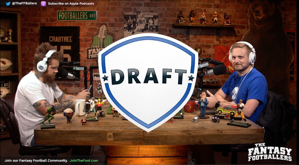 Live Week 15 Draft – Daily Dose for Dec 15