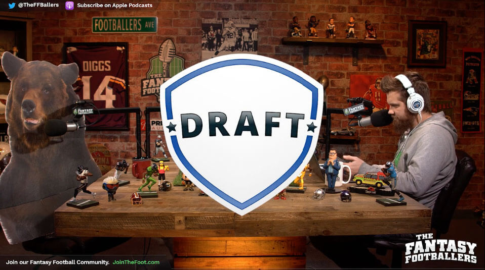 Live Week 17 Draft – Daily Dose for Dec 29