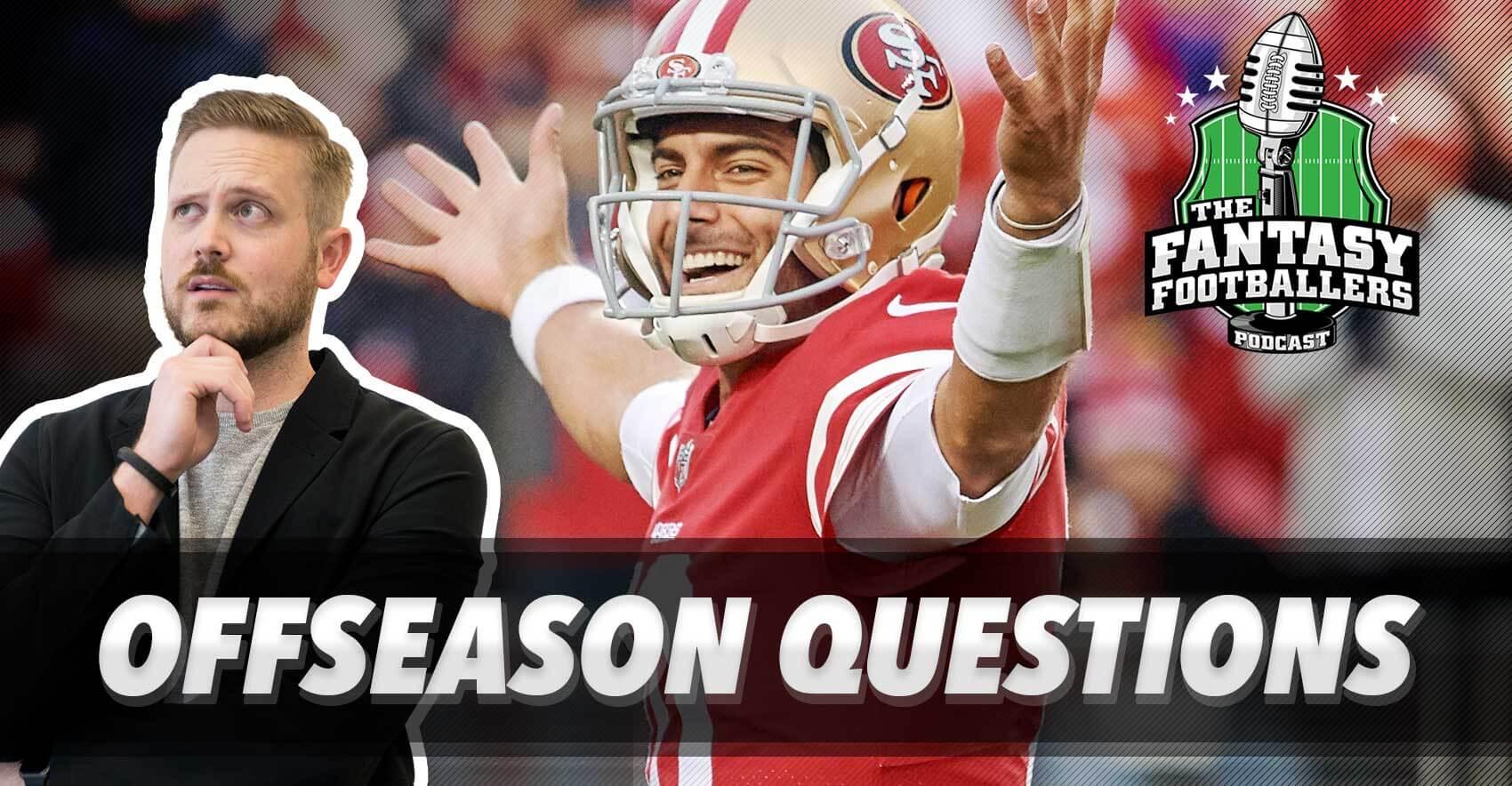 Big Offseason Questions + Combine Hype - Ep. #527