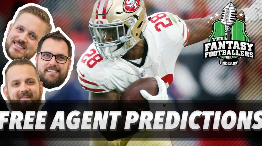 Free Agent Predictions & Combine Reactions - Ep. #528