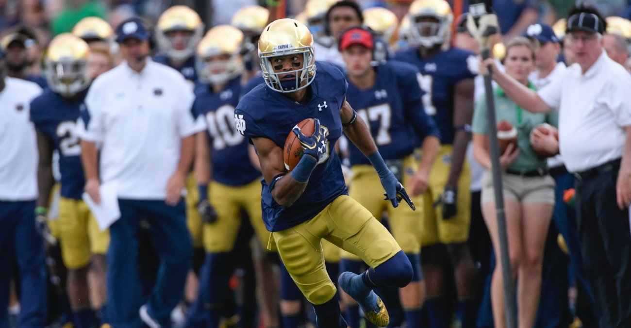 Reception Perception: Hard to Find the Faults in Equanimeous St. Brown's Game