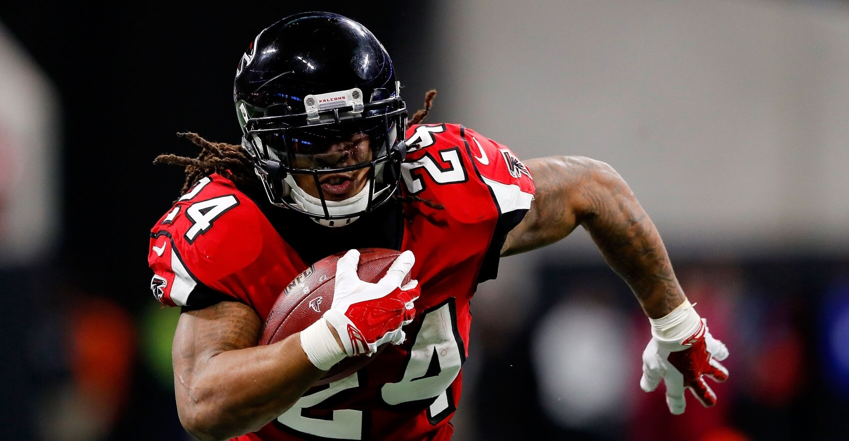pretty nice 4f93d 6af4e Fantasy Football Film Study: Devonta Freeman - Fantasy ...