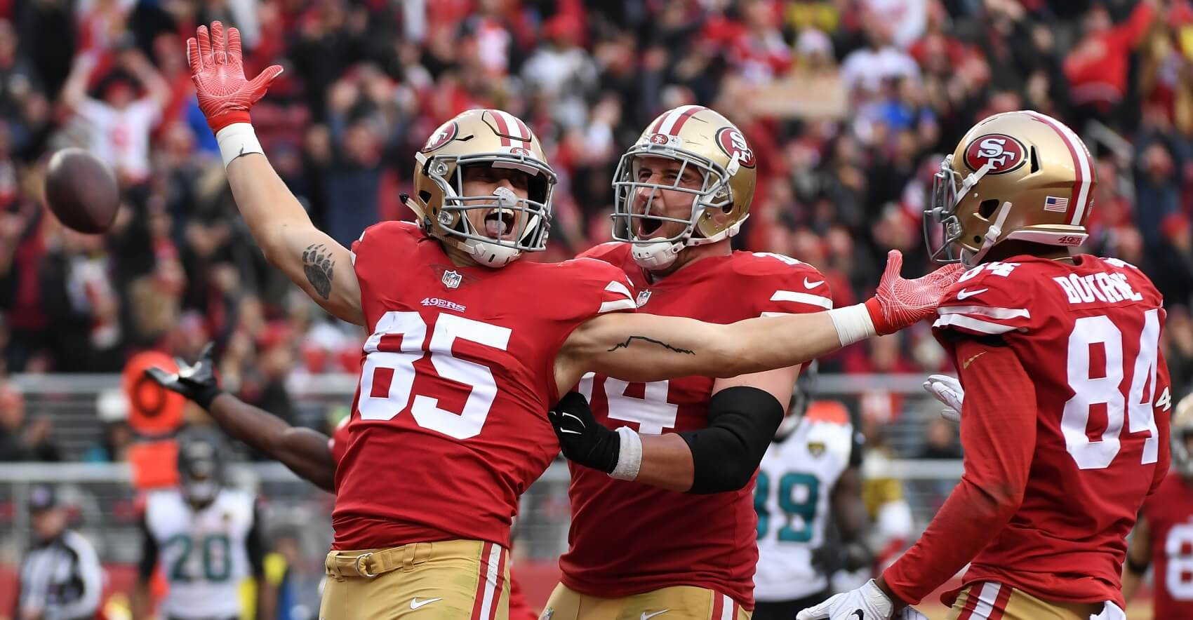 bed3c327e Fantasy Football  George Kittle is a Top 10 Fantasy TE in the Making ...