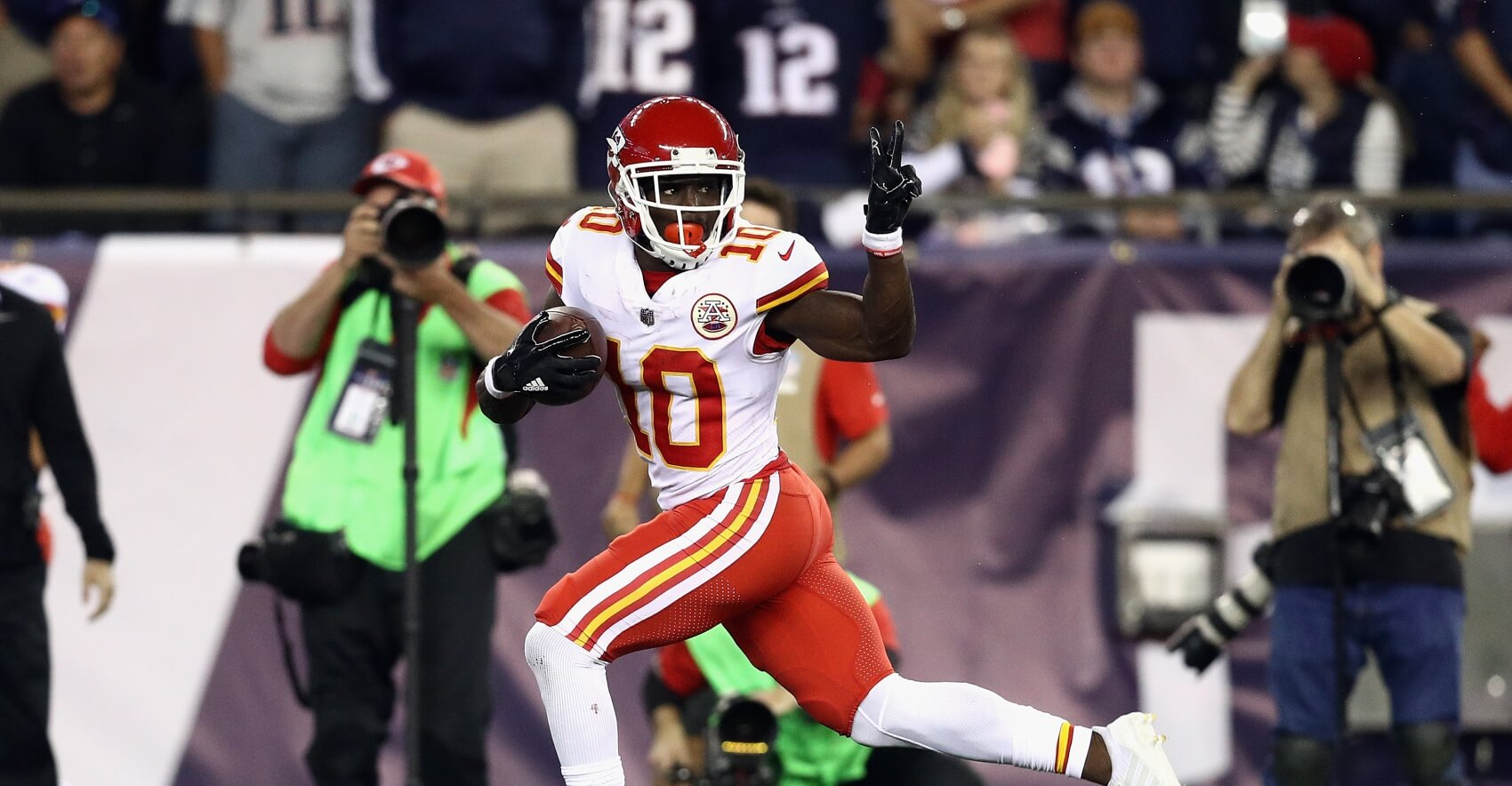 Tyreek Hill: The Path to WR1 Fantasy Season