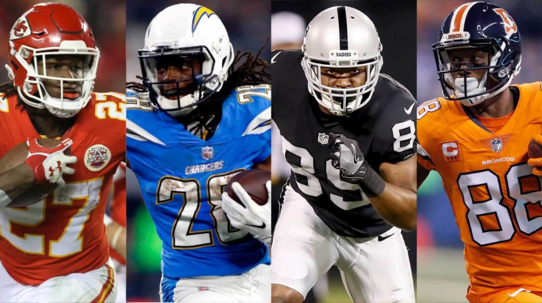 AFC West Breakdown, Melvin Gordon, and a Pink Moose