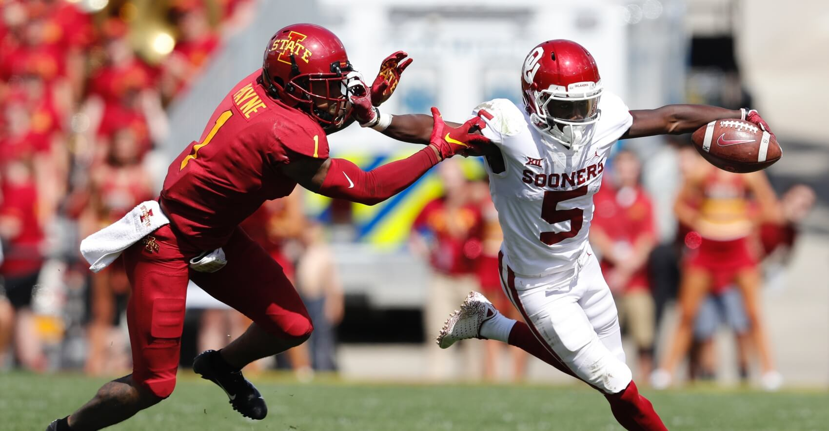 Reception Perception: Marquise Brown May Have the Best Film of Any WR in 2019 NFL Draft Class