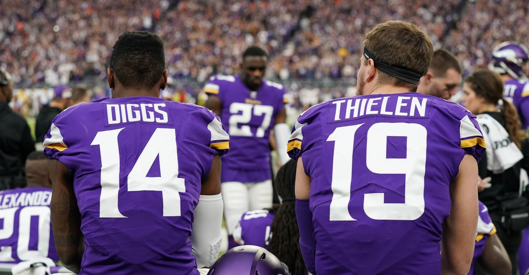 Figuring Out the Thielen and Diggs Fantasy Football Conundrum