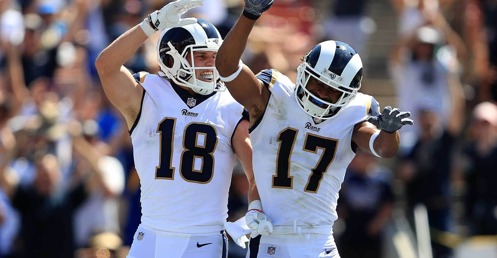 Robert Woods or Cooper Kupp: Who To Target in 2020 (Fantasy ...