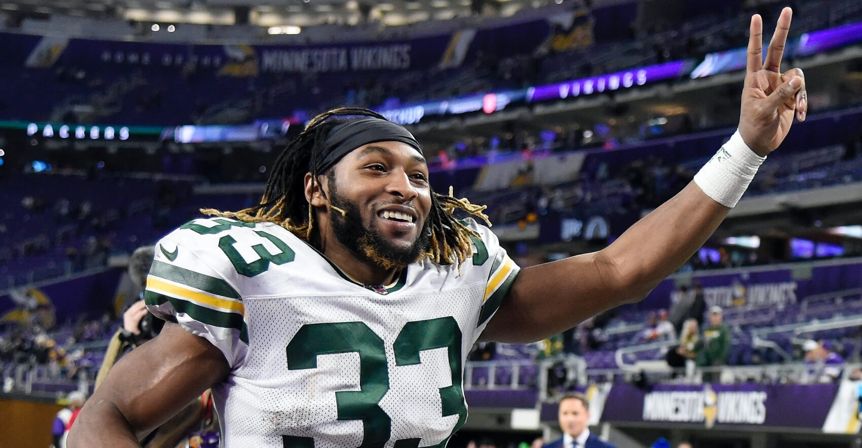 What To Expect From Aaron Jones In 2020 Fantasy Football Fantasy Footballers Podcast